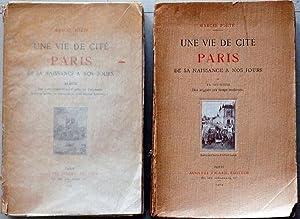 Une vie de cité Paris: par Marcel Poëte
