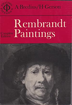 Rembrandt Paintings: A. Bredius/H.Gerson