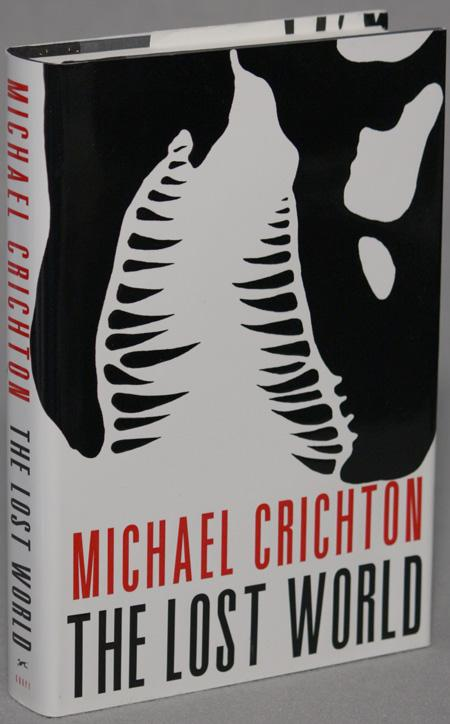 THE LOST WORLD Crichton, Michael Hardcover