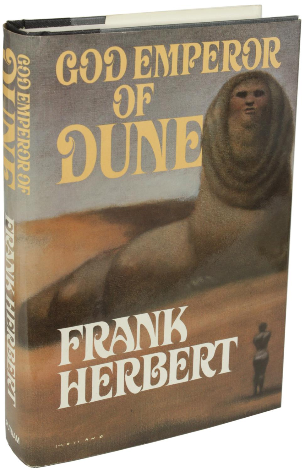a book analysis of god emperor of dune by frank herbert God emperor of dune summary & study guide includes comprehensive information and analysis to help you understand the book on god emperor of dune by frank herbert.