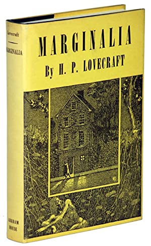 MARGINALIA.Collected by August Derleth and Donald Wandrei: Lovecraft, H[oward] P[hillips]