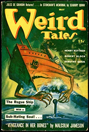 WEIRD TALES: WEIRD TALES. May