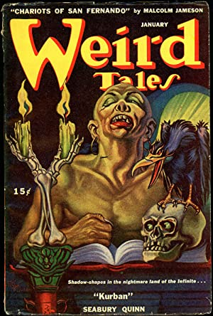 WEIRD TALES: WEIRD TALES. January