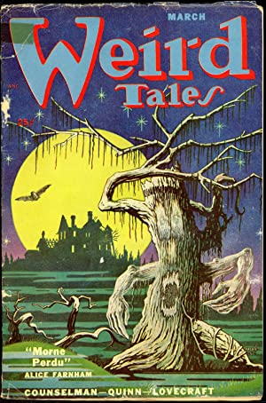 WEIRD TALES: WEIRD TALES. March