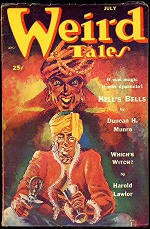 WEIRD TALES: WEIRD TALES. July