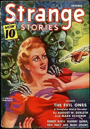 STRANGE STORIES: STRANGE STORIES. October