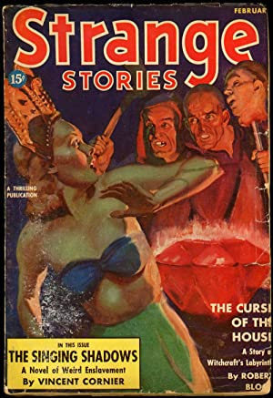 STRANGE STORIES: STRANGE STORIES. February