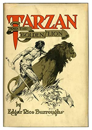 TARZAN AND THE GOLDEN LION .
