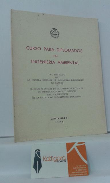 CURSO PARA DIPLOMADOS EN INGENIERÍA AMBIENTAL de ESCUELA