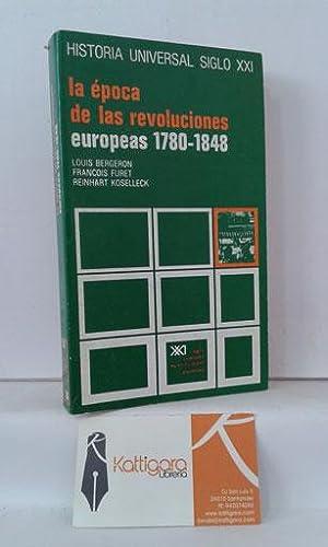 LA ÉPOCA DE LAS REVOLUCIONES EUROPEAS 1780-1848: BERGERON, LOUIS -