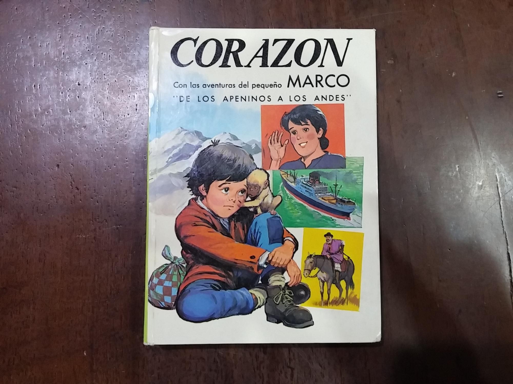 Corazon Con Las Aventuras Del Pequeno Marco