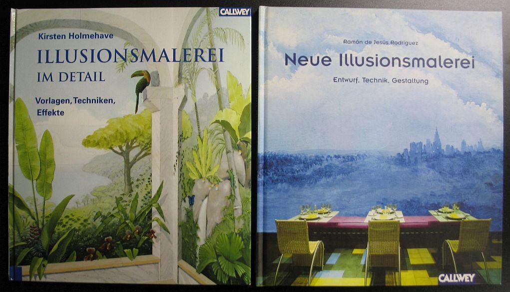 illusionsmalerei im detail vorlagen von holmehave zvab. Black Bedroom Furniture Sets. Home Design Ideas