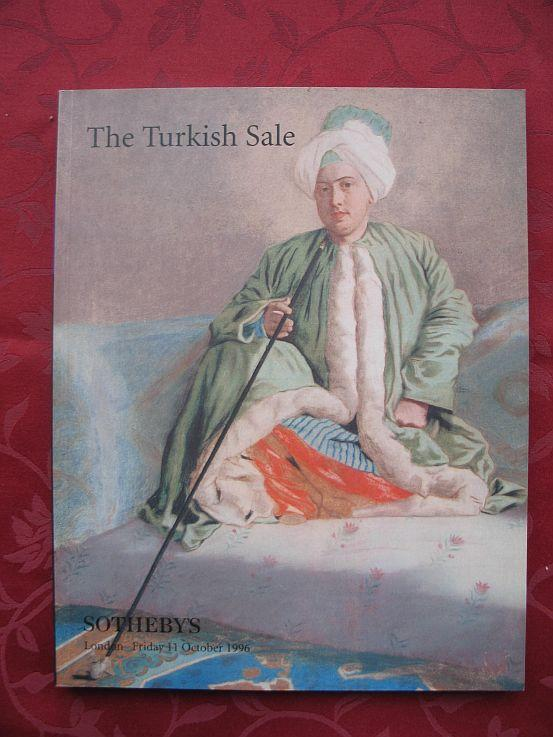 The Turkish Sale – Including Works of Art,