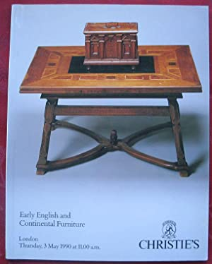 Early English and Continental Furniture