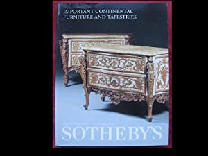 Important Continental Furniture and Tapestries