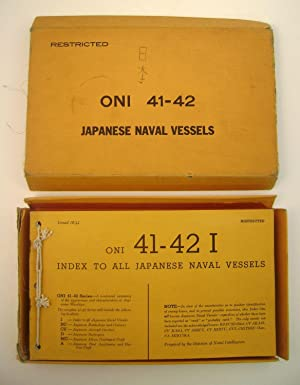 Oni 41-42 Index to All Japanese Naval Vessels