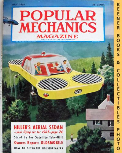 Popular Mechanics Magazine July 1957 Vol 108 No 1 By Windsor