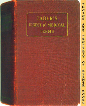 Taber's Digest Of Medical Terms