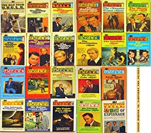 The Man From U. N. C. L. E. [UNCLE] 22 Volume Collection (Includes #1, #2, #3, #4, #5, #6, #7, #8...