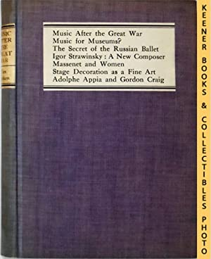 Music After The Great War And Other Studies