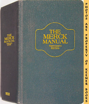 The Merck Manual Of Diagnosis And Therapy: Thirteenth - 13th - Edition