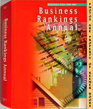 Business Rankings Annual Cumulative Index 1989 - 2007
