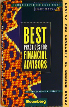 Best Practices For Financial Advisors: Bloomberg Professional Library Series