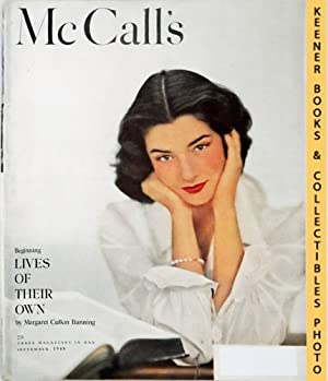 McCall's Magazine: Three Magazines In One : September 1948 Vol. LXXV, No. 12 Issue