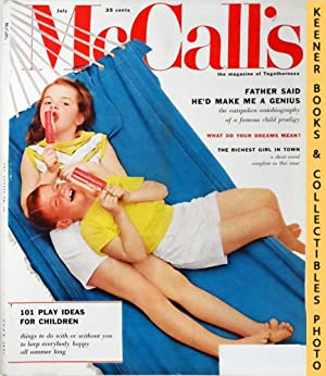 McCall's Magazine: The Magazine Of Togetherness : July 1957 Vol. LXXXIV, No. 10 Issue