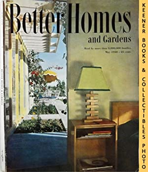 Better Homes And Gardens Magazine : May 1948, Vol. 26 Number 9 Issue