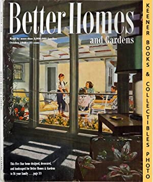 Better Homes And Gardens Magazine : October 1948, Vol. 27 Number 2 Issue