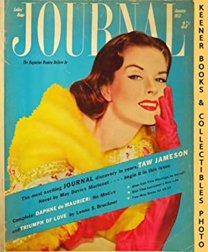 Ladies' Home Journal Magazine: January 1953, Vol. LXX No. 1 Issue : The Magazine Of ...