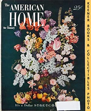 The American Home Magazine : January 1949, Vol. XLI No. 2 Issue