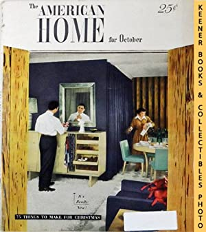 The American Home Magazine : October 1948, Vol. XL No. 5 Issue