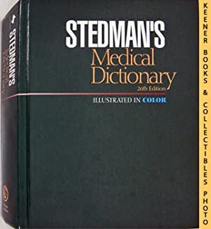 Stedman's Medical Dictionary (26th Edition - Illustrated In Color)