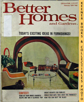 Better Homes And Gardens Magazine (February 1970 Vol. 48, No. 2 Issue)