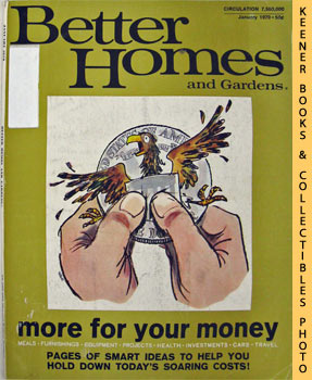 Better Homes And Gardens Magazine (January 1970 Vol. 48, No. 1 Issue)