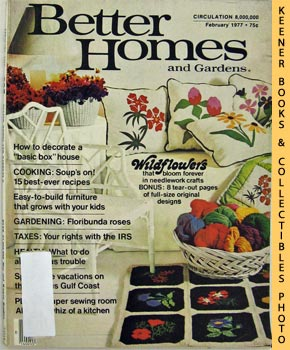 Better Homes And Gardens Magazine (February 1977 Vol. 55, No. 2 Issue)