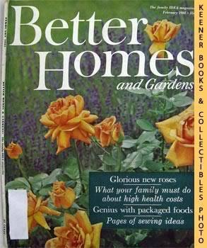 Better Homes And Gardens Magazine (February 1961: Dieter, Bob (Editor)
