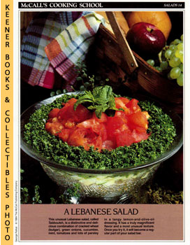 McCall's Cooking School Recipe Card: Salads 14 - Tabbouleh (Replacement McCall's Recipage or Reci...