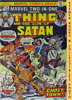 Marvel Two-In-One - The Thing And The Son Of Satan (Vol. 1, No. 14, March, 1976)