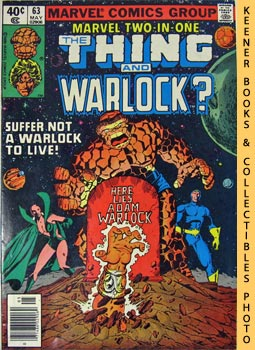Marvel Two-In-One - The Thing And Warlock? (Vol. 1, No. 63, Nov, 1980)
