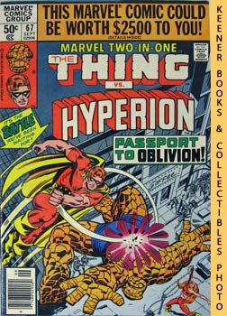Marvel Two-In-One - The Thing And Hyperion (Vol. 1, No. 67, Sept, 1980)