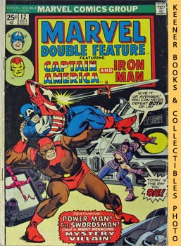 Marvel Double Feature - Captain America And Iron Man (Vol. 1, No. 12, October, 1975)