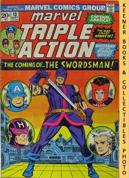 Marvel Triple Action (The Coming Of - The Swordsman! -- No. 13, September 1973)