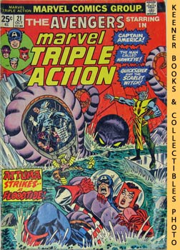 Marvel Triple Action (Four Against The Floodtide! -- No. 21, October 1974)