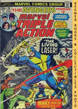 Marvel Triple Action (The Living Laser! -- No. 26, November 1975)