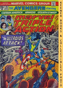 Marvel Triple Action (The Ultroids Attack! -- No. 28, March 1976)