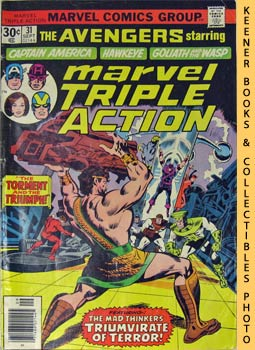 Marvel Triple Action (The Torment And The Triumph! -- No. 31, September 1976)
