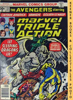Marvel Triple Action (Let Sleeping Dragons Lie! -- No. 33, January 1977)